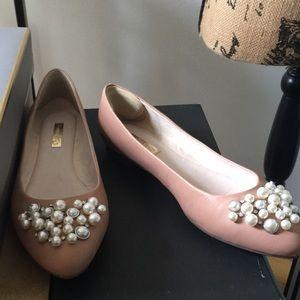 Louis et Cie Pink Flats